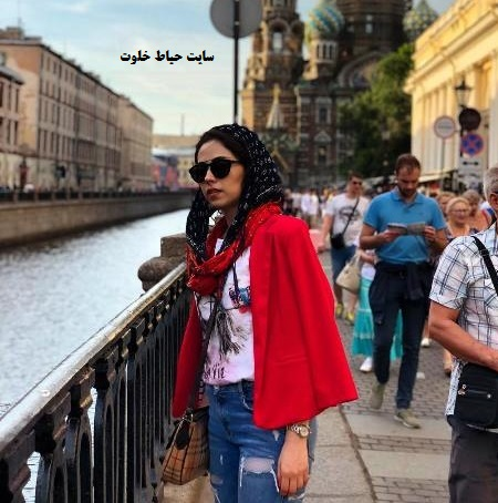 خوشگذرانی نیلوفر رجایی بازیگر سریال پایتخت در روسیه