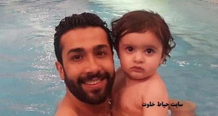 حسین مهری و پسرش حامین