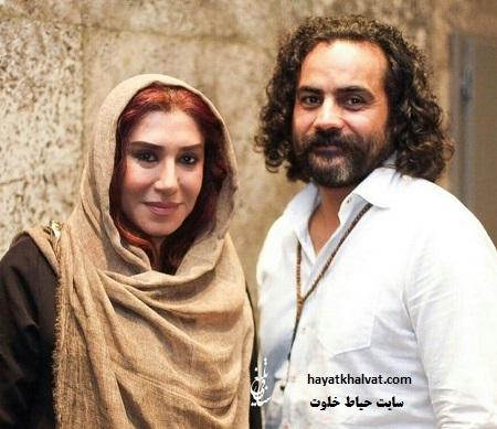 عکس های نسیم ادبی و همسرش ابراهیم اثباتی + نحوه آشنایی و ازدواج