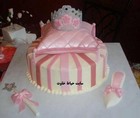 مدل کیک دخترانه | مدل های جدید و زیبای کیک تولد دخترانه