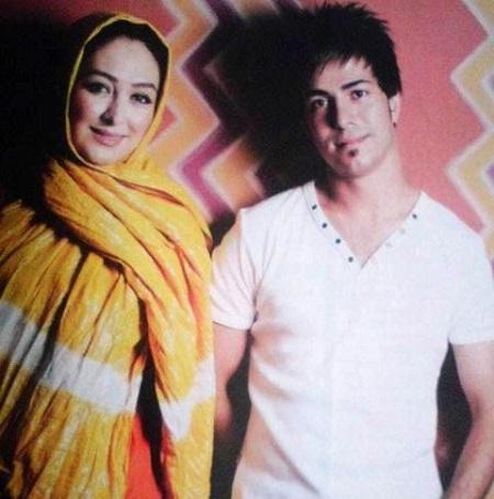 عکس همسر الهام حمیدی