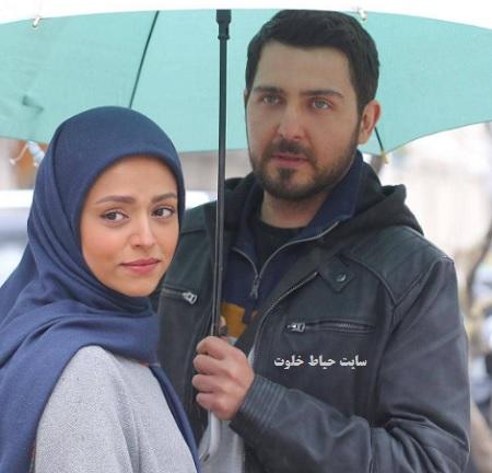 عکس عاشقانه آرش و رونا سریال دلدار
