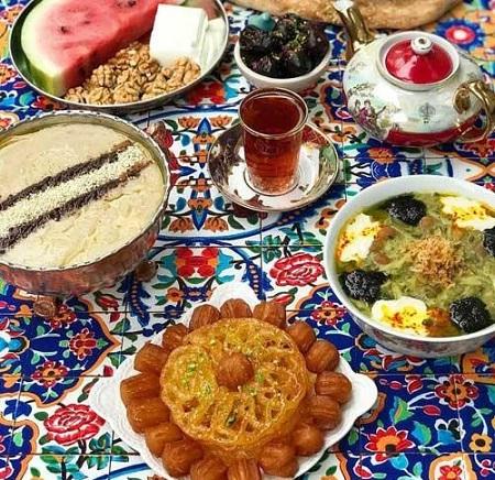افطاری چی بخوریم ؟ |