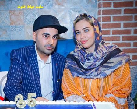 بهنام صفوی و همسرش / عکس همسر بهنام صفوی