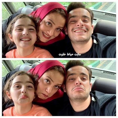 شبنم مقدمی و دخترش در سریال هیولا
