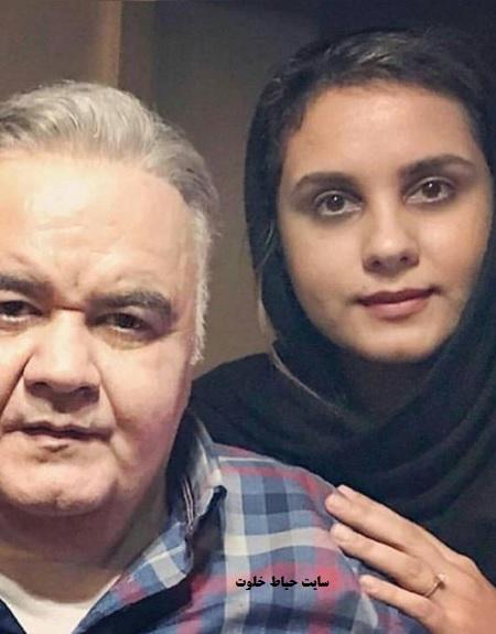 تغییر چهره شگفت انگیز دختر اکبر عبدی بعد از میکاپ + عکس