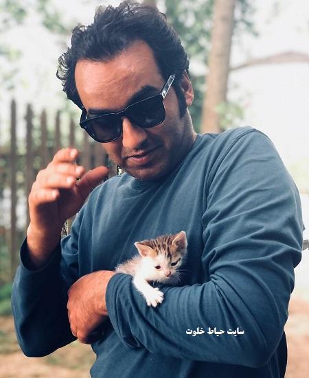 عکس جدید سجاد افشاریان بازیگر نقش آراز در سریال برادر جان