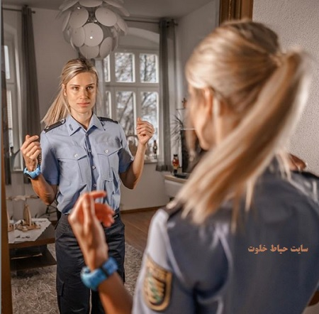 """عکس های """"آدریانا کولستار"""" زیباترین پلیس زن آلمان + اینستاگرام"""