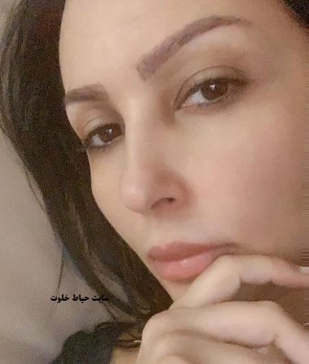 عکس بدون آرایش پرستو صالحی