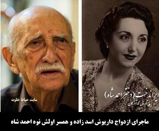 همسران داریوش اسدزاده