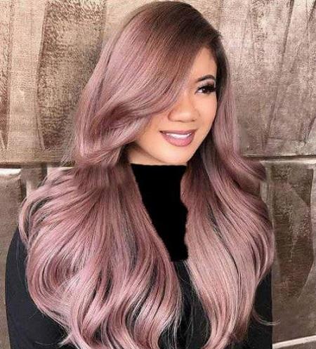مدل های زیبای رنگ موی پوست پیازی + فرمول ترکیب رنگ مو پوست پیازی