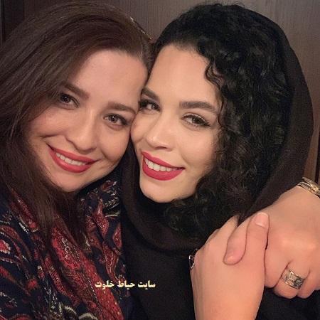 عکس جدید مهراوه و ملیکا شریفی نیا