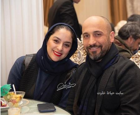 مارال بنی آدم و علی سرابی در آیین سپاس تهیه کنندگان سینمای ایران