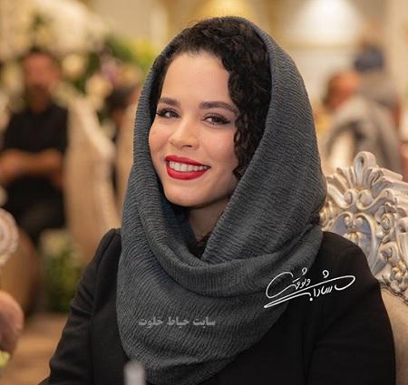 ملیکا شریفی نیا در آیین سپاس تهیه کنندگان سینمای ایران