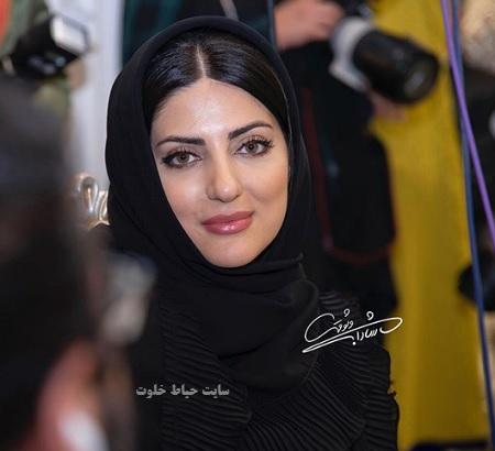 هلیا امامی در آیین سپاس تهیه کنندگان سینمای ایران