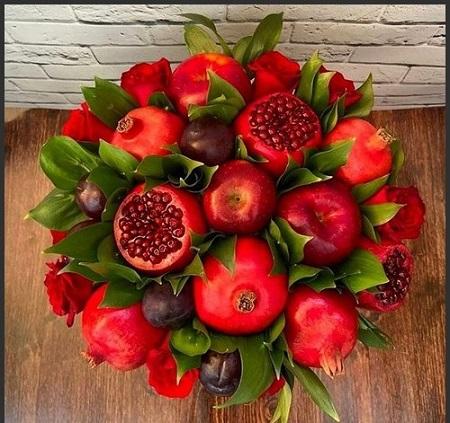 تزیینات شب یلدا ۹۸ | آموزش تزیین میوه شب یلدا |