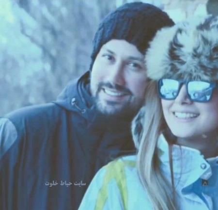 عکس های جدید شاهرخ استخری و همسرش
