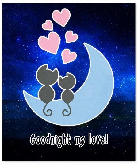 پیامک شب بخیر عاشقانه برای عشقم |