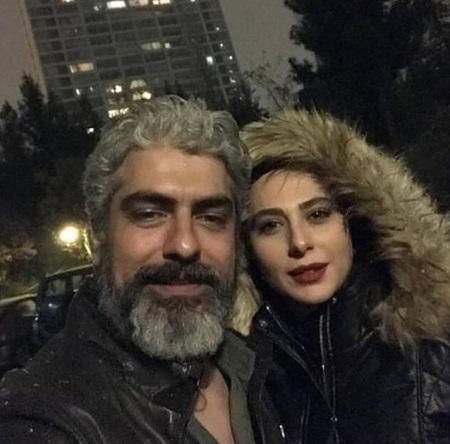عکس های مهدی پاکدل و همسر جدیدش
