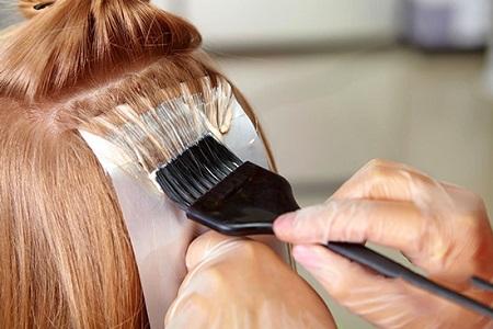 رنگ کردن مو با مواد گیاهی و طبیعی