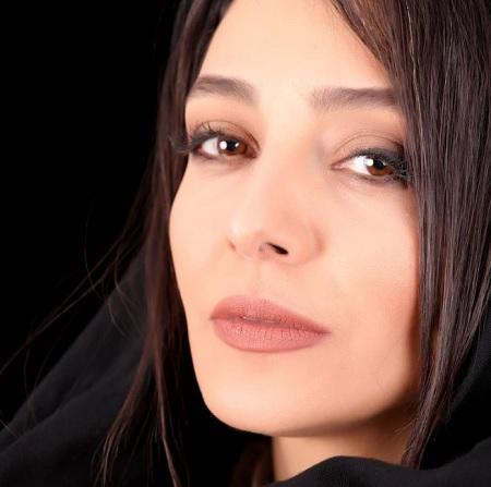 پرتره زیبا ساره بیات بازیگر سریال گیسو