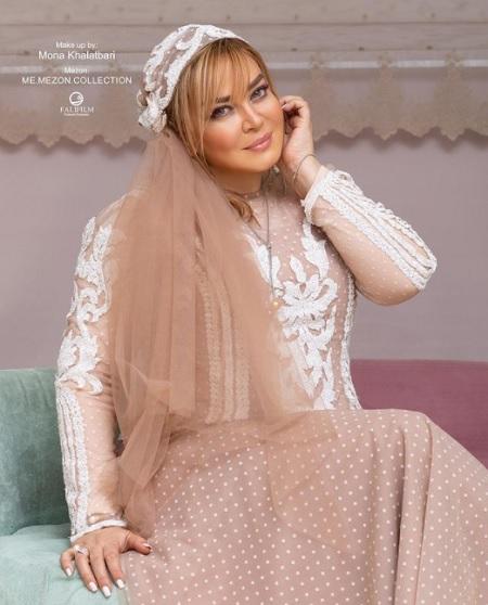 مدل لباس خاص بهاره رهنما برای سالگرد ازدواجش